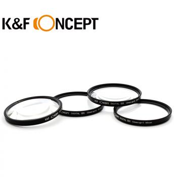 K&F 4片組 近攝鏡片 52mm - 77mm
