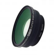 單眼專用廣角鏡頭 0.45x 52MM/58MM 外口徑72MM 彩蓋