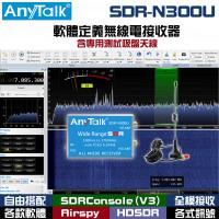 SDR-N300U 軟體定義無線電接收器 含專用測試吸盤天線