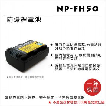 ROWA 樂華 FOR SONY NP-FH50 鋰電池