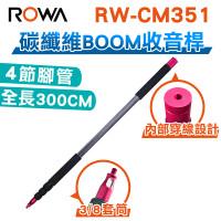 RW-CM351 專業碳纖維收音桿