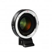 唯卓 EF-EII Booster 異機身轉接環 Canon EF 鏡頭 轉 Sony E卡口